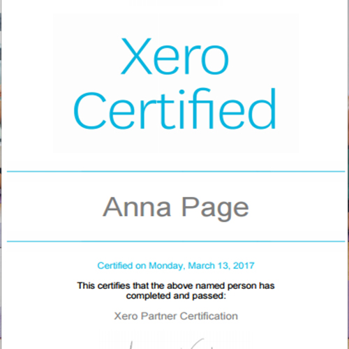 Certificate In Xero Accounting New Zealand Harley Oxford